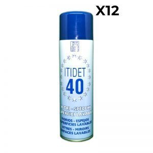 Itidet 40 Detergente Spray 500 ml x12